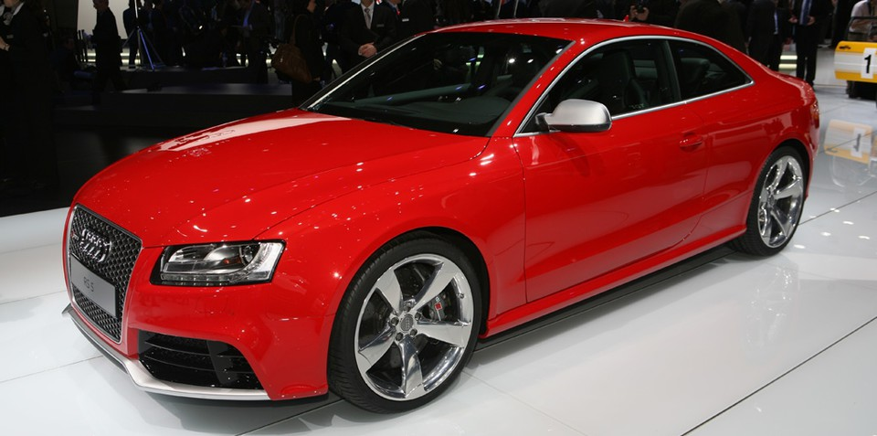 Audi RS5 officially unveiled at Geneva Motor Show