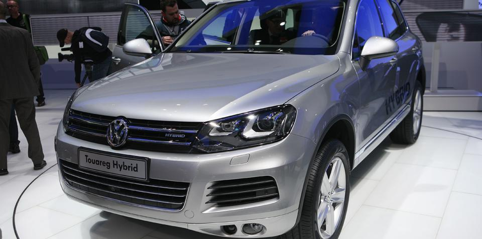 Volkswagen Touareg Hybrid released at Geneva Motor Show 2010