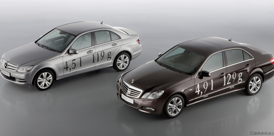 Mercedes-Benz E250 CDI & C220 CDI Blue Efficiency - Geneva 2010