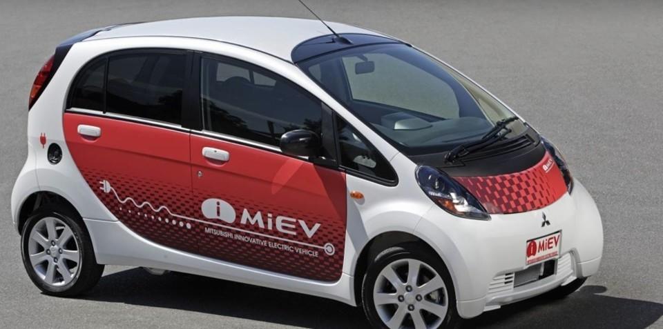 Mitsubishi i-MiEV lands in Australia tomorrow