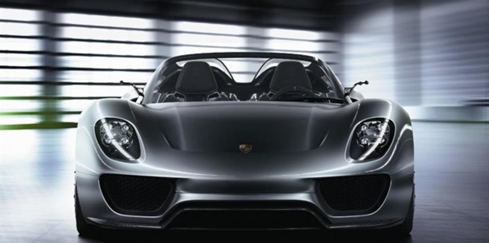 Porsche 918 Spyder could enter production