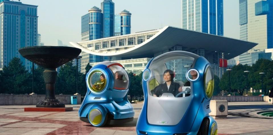 Holden-designed EN-V Xiao concept unveiled in Shanghai