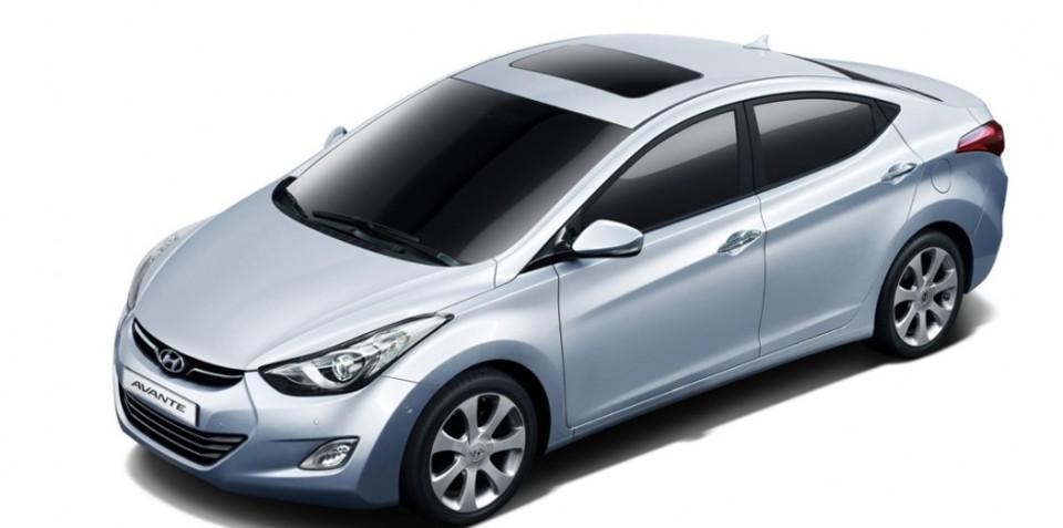 2011 Hyundai Elantra (Avante) premiered in Busan