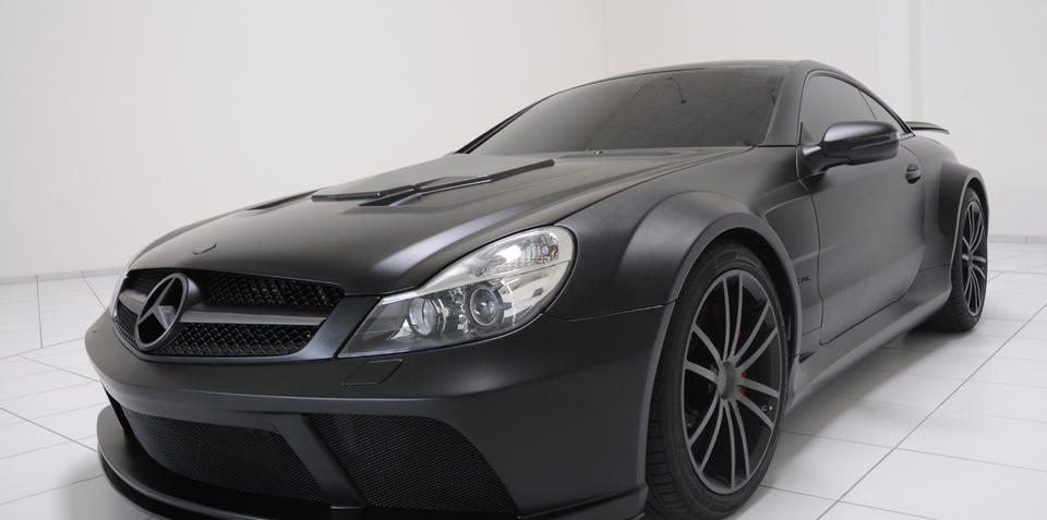 Brabus T65 RS Vanish SL65 AMG Black