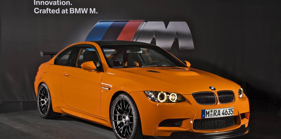 BMW M3 GTS now right-hand-drive, but not for Australia
