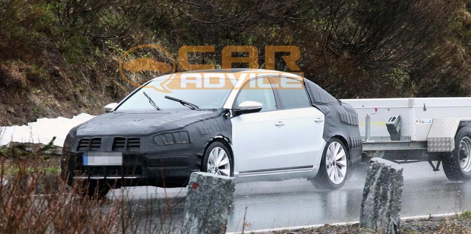 2011 Volkswagen Passat sedan spied