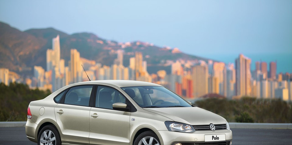 Volkswagen Polo Sedan Unveiled
