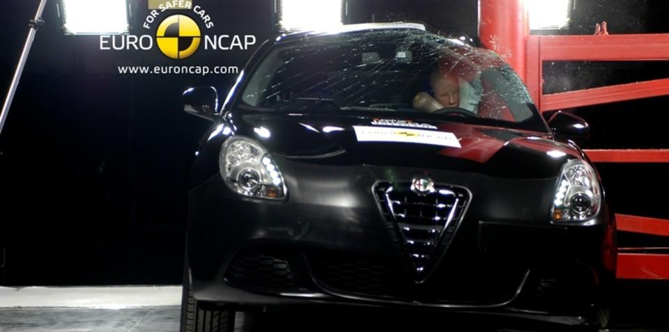 Alfa Romeo Giulietta safest compact car in Euro NCAP history