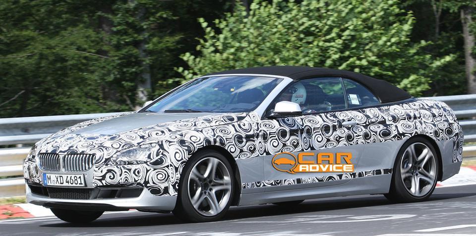 2011 BMW 6 Series Convertible spy photos