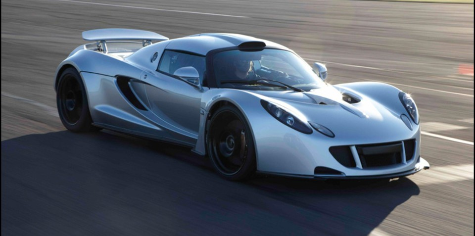2011 Hennessey Venom GT production car