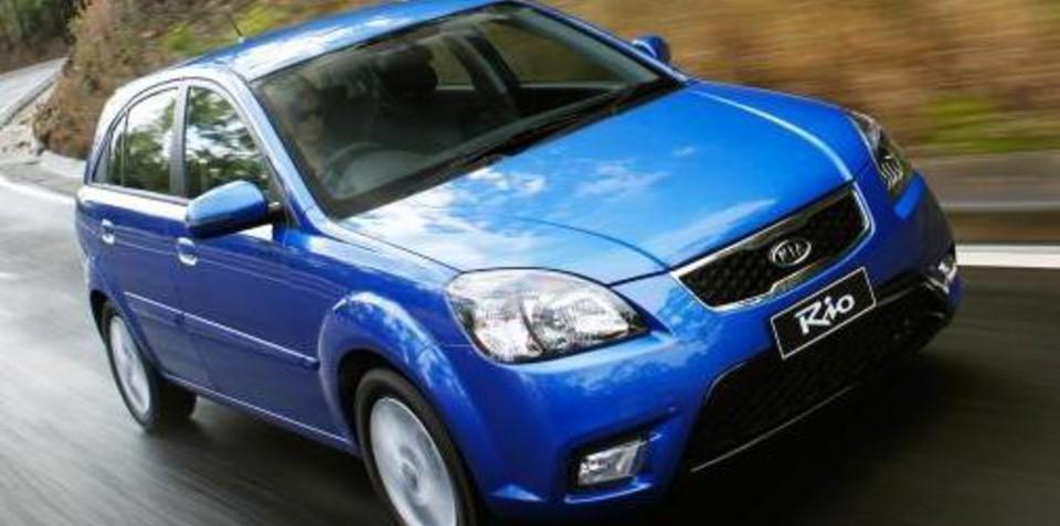 2011 Kio Rio included in Green Vehicle Guide