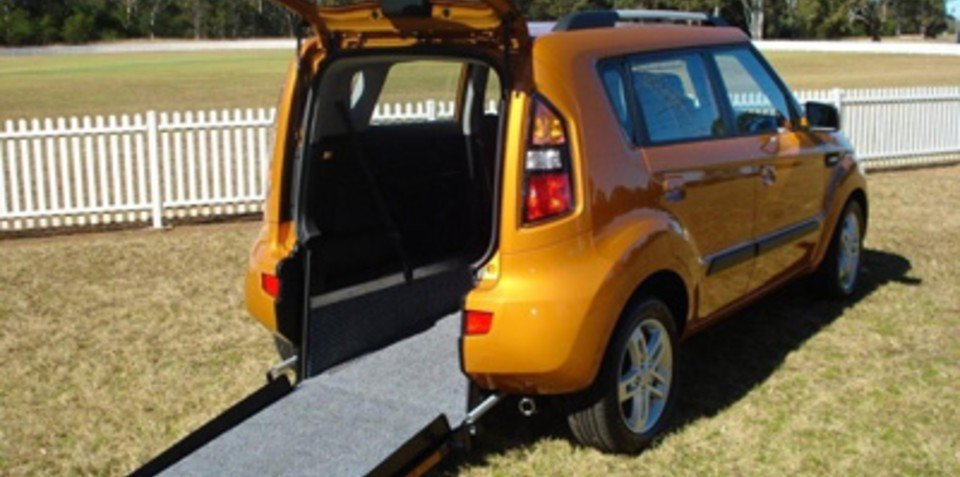Freedom Motors Australia Adds Kia Soul To Wheelchair
