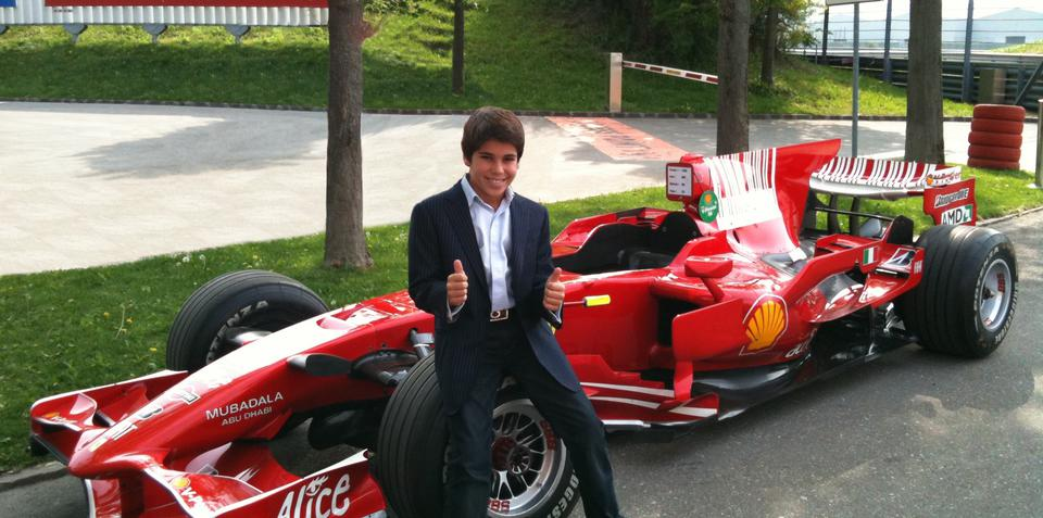 Ferrari signs 11-year-old, Massa contract extended