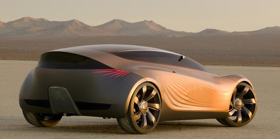 Mazda's nagare design language over