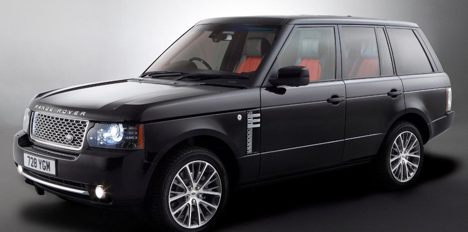 2011 Range Rover Vogue and Black edition