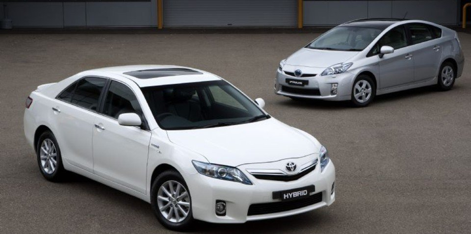 Global Toyota hybrid sales exceed 2.5 million