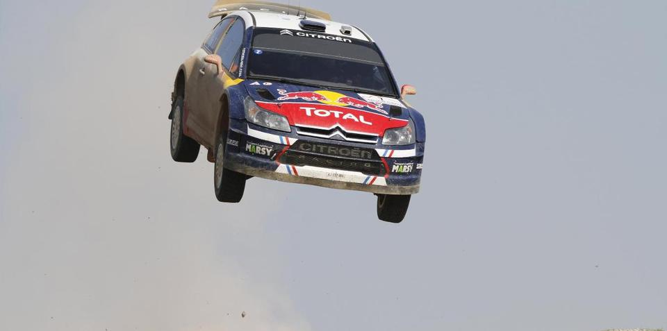 Citroen releases big air rally jumps gallery