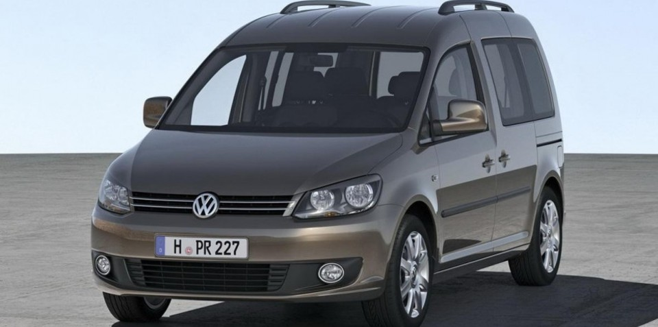 2011 Volkswagen Caddy unveiled ahead of Q4 launch