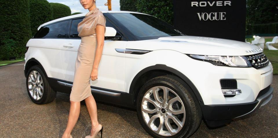 Posh hooks up with Range Rover