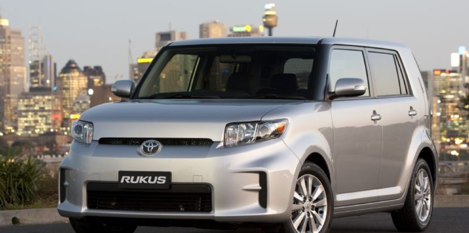 Toyota Rukus attracts younger buyers