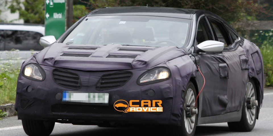 2012 Hyundai Grandeur Spy Photos