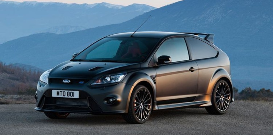 2010 Ford Focus RS500 to be added to legendary collection