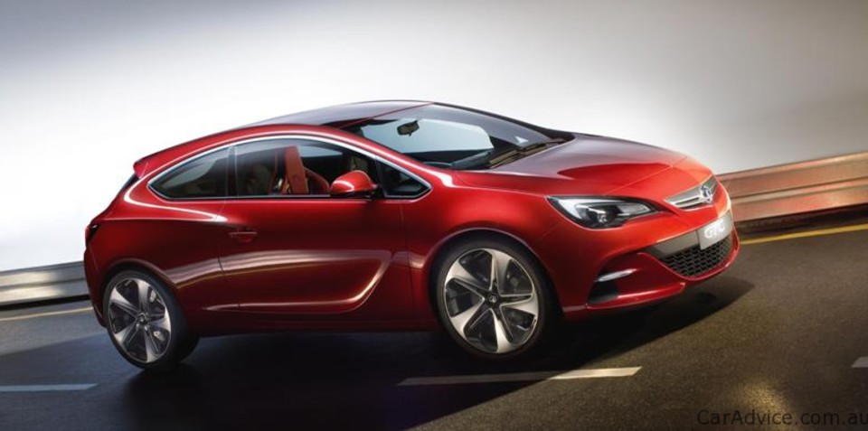 2011 Opel Astra 3-door previewed in Opel GTC Paris Concept