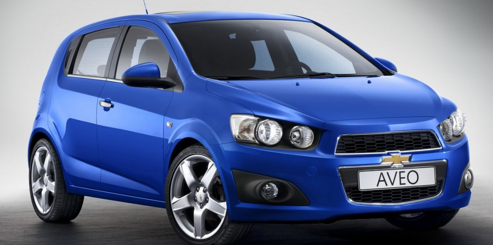 2011 Holden Barina could be Chevrolet Aveo to debut at Paris show