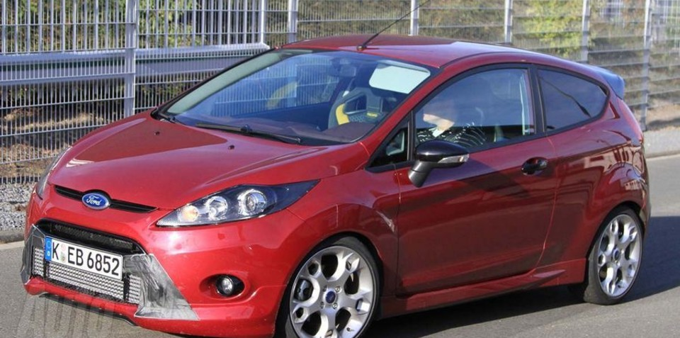 2011 Ford Fiesta ST could be badged locally as Fiesta XR4