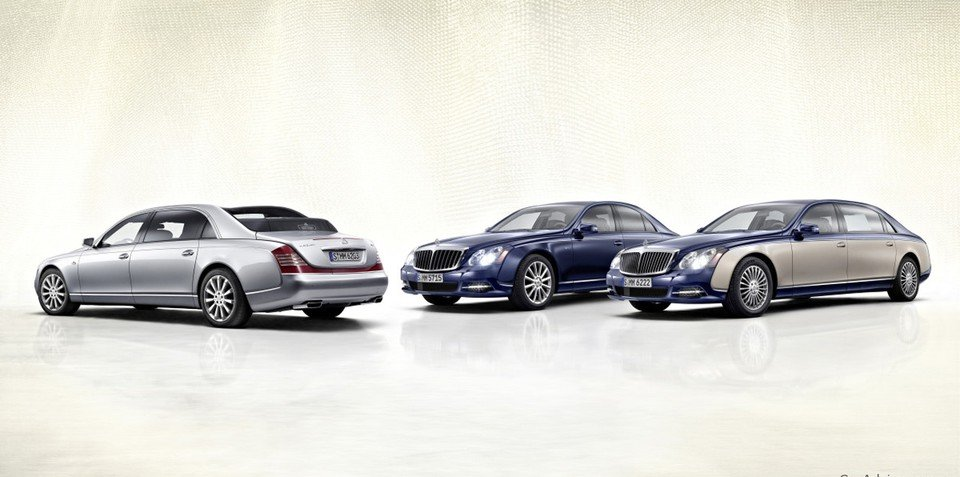 2011 Maybach 57 and 62