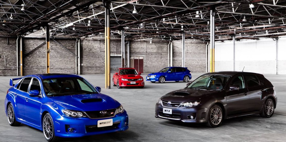 2011 Subaru WRX & WRX STI launched