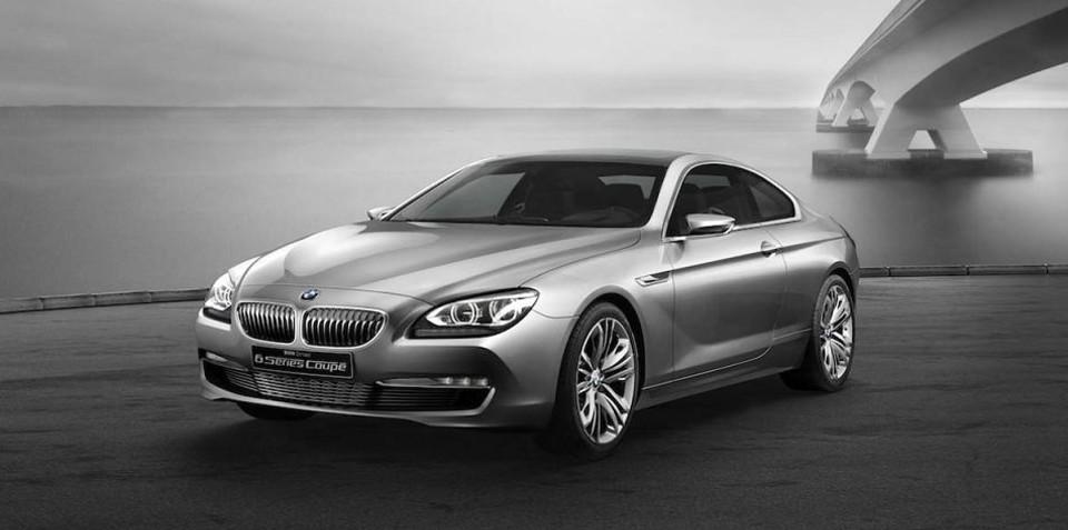 2012 BMW 6 Series Concept preview to Paris Motor Show