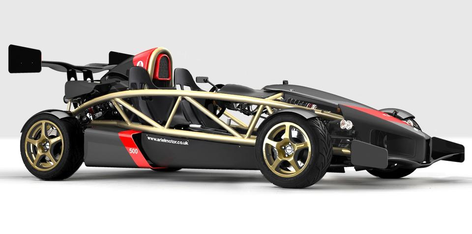 Ariel Atom 500 V8 built to celebrate 10th birthday