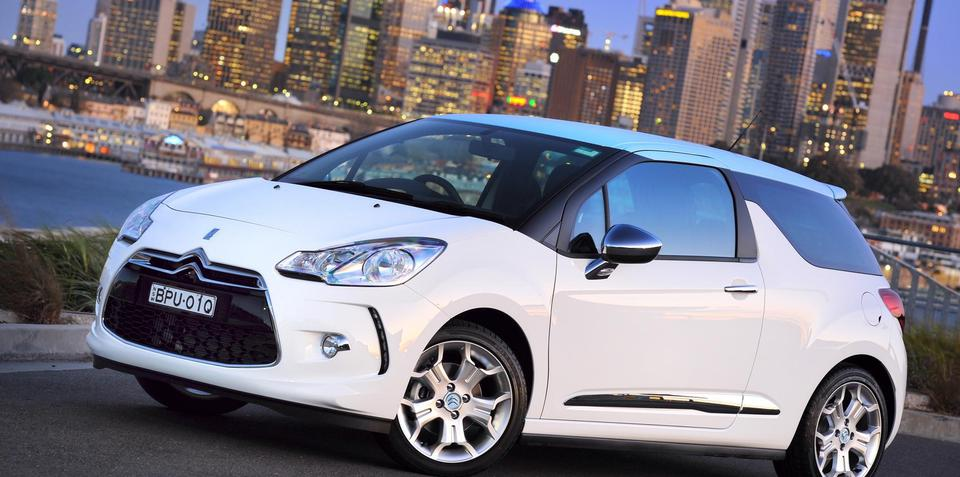 2010 Citroen DS3 released in Australia