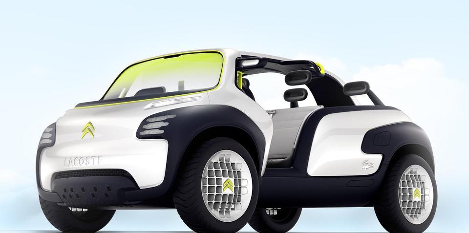 Citroen Lacoste Concept preview to Paris Motor Show debut