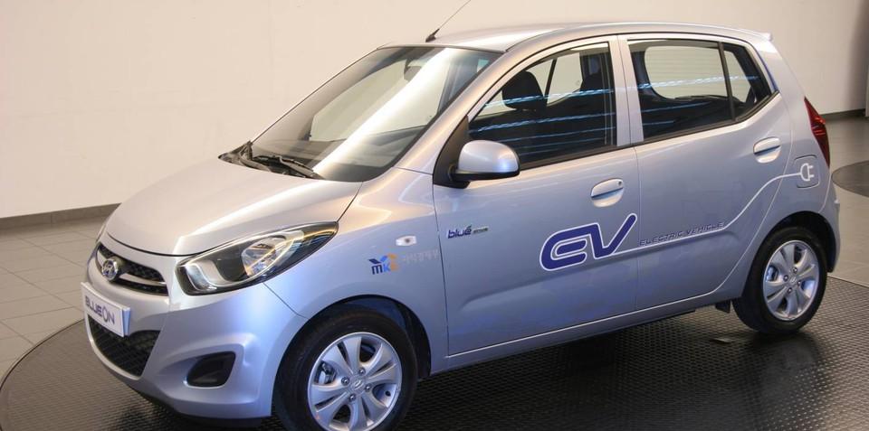 Hyundai BlueOn Electric Car
