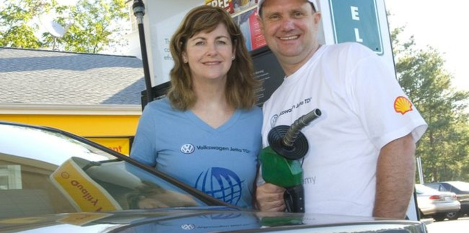 Helen and John Taylor world's most fuel efficient couple retire