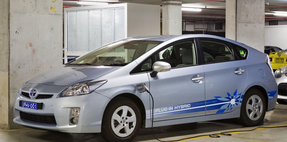 Toyota Plug-In Hybrid Concept Vehicle