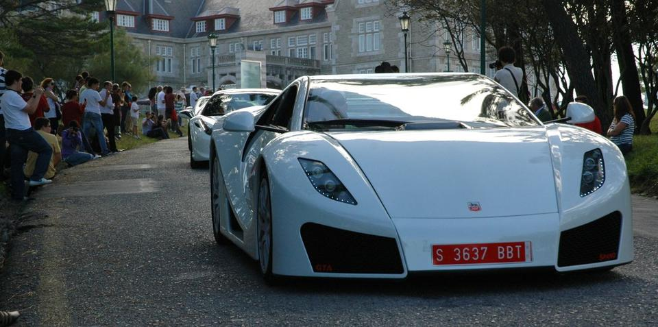 GTA Spano out and about in Spain