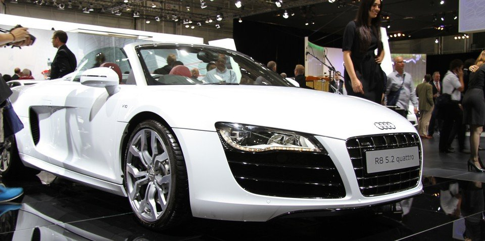Audi R8 Spyder at 2010 AIMS