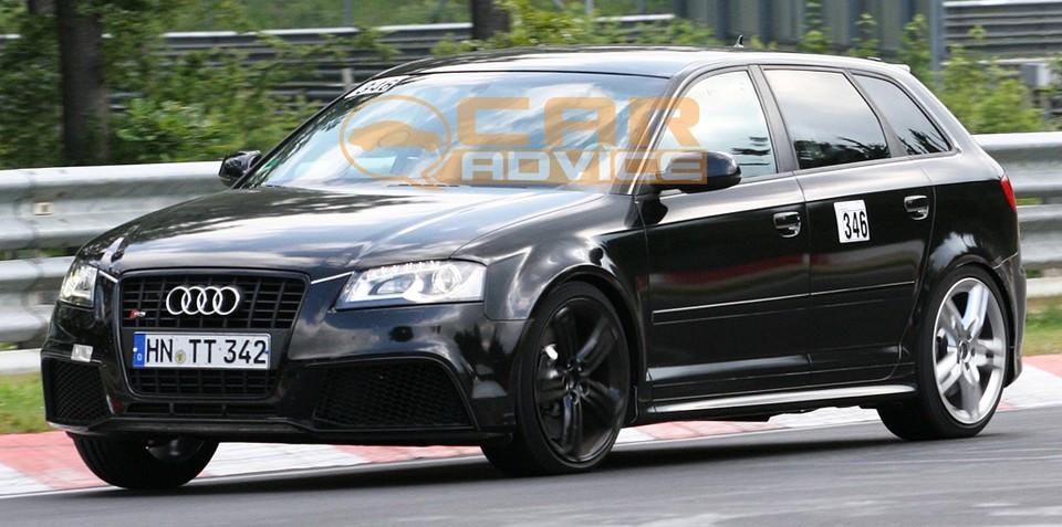 Audi RS3 dash images surface