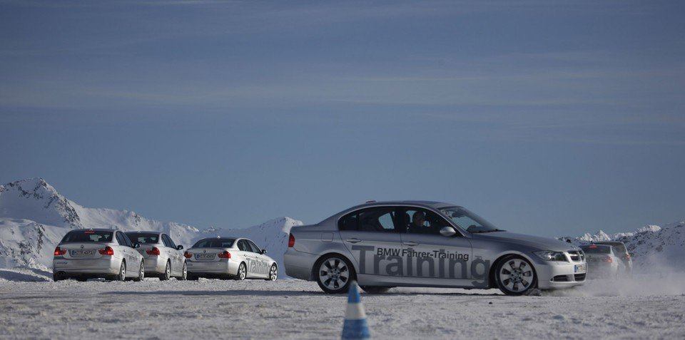 BMW Winter Driving Experience driver training courses