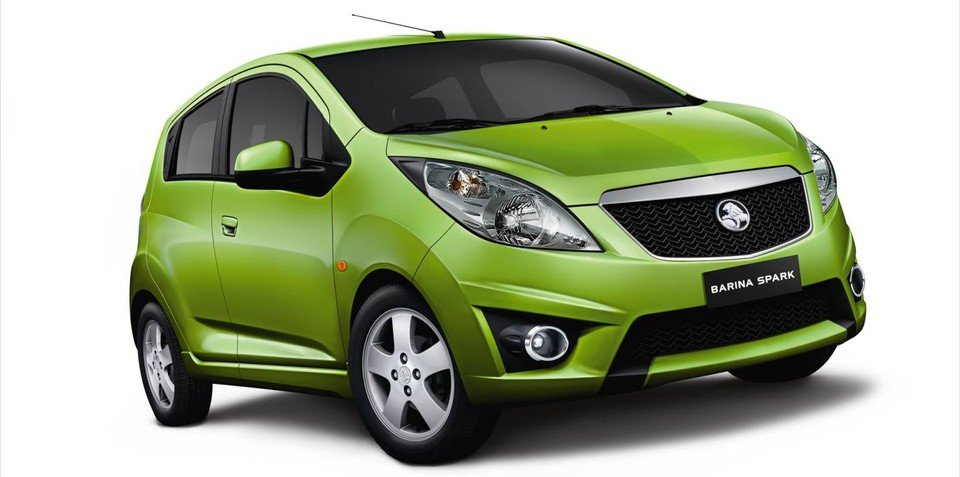 2010 Holden Barina Spark to debut at Sydney AIMS