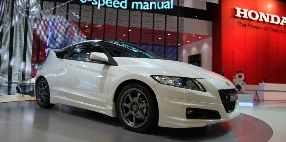 Honda CR-Z at 2010 AIMS