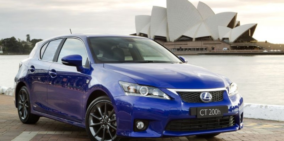 Lexus CT200h F Sport at 2010 AIMS