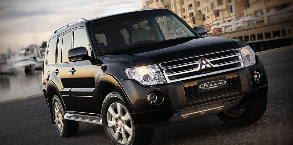 Mitsubishi Pajero Platinum Edition makes a comeback