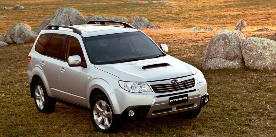 Subaru Forester leads sales for September 2010