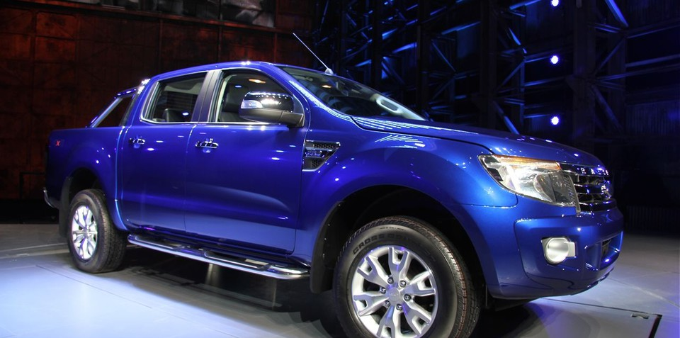 2011 Ford Ranger T6 unveiled