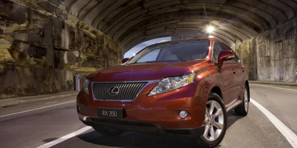 2011 Lexus RX 350, RX 450h released in Australia