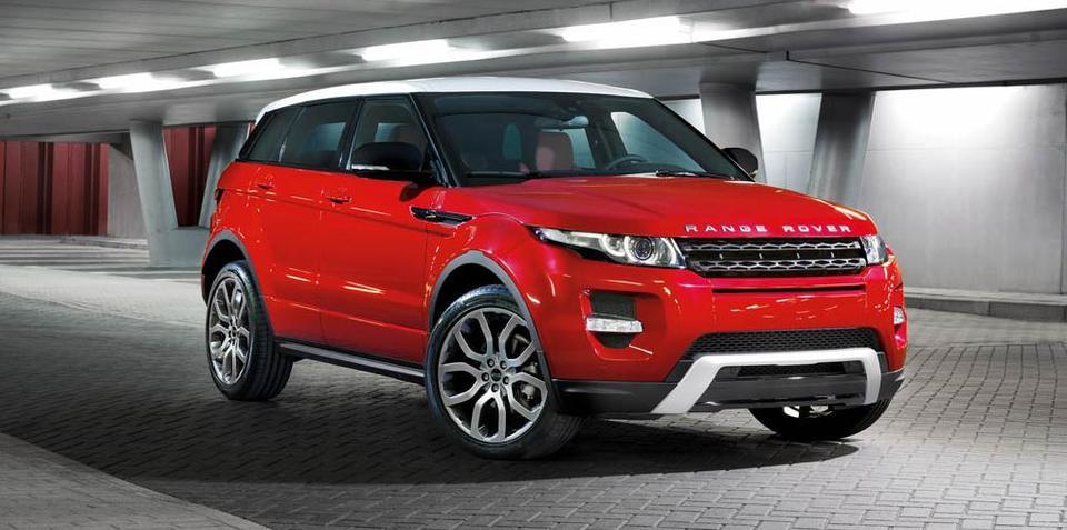 2012 Range Rover Evoque five-door revealed ahead of LA show